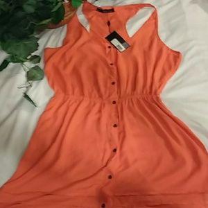 New Patterson Kincaid Priscilla tank dress L